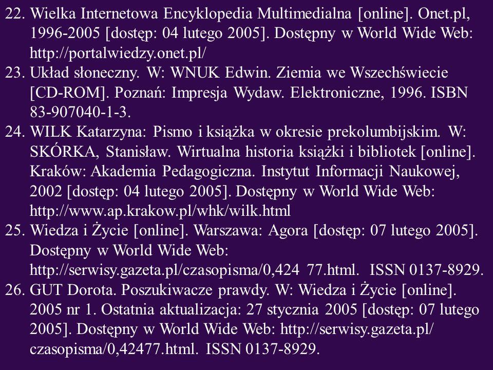 Wielka Internetowa Encyklopedia Multimedialna [online]. Onet